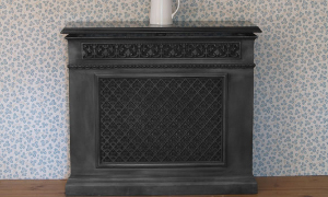 Cast iron radiators, radiator covers