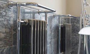 Cast iron radiators, towel rails